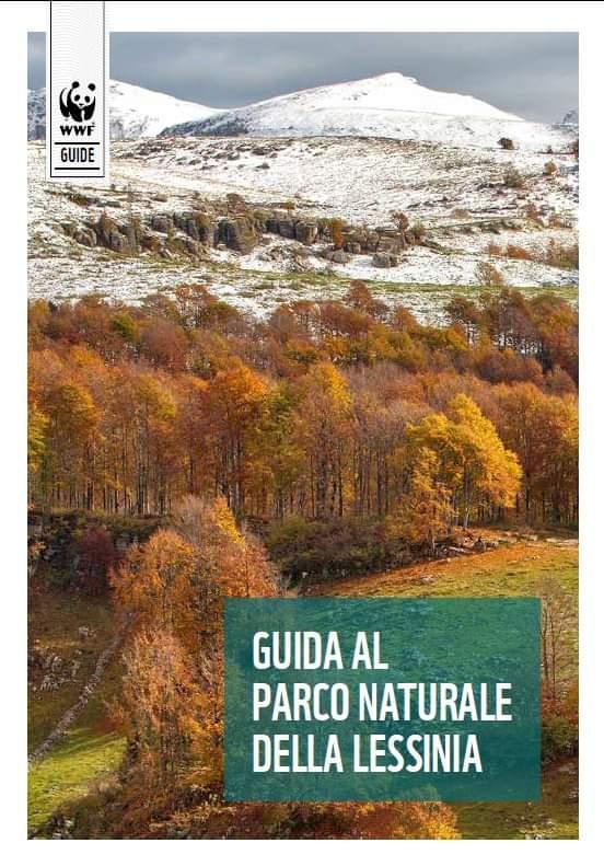 Copertina del libro Guida al Parco Naturale della Lessinia